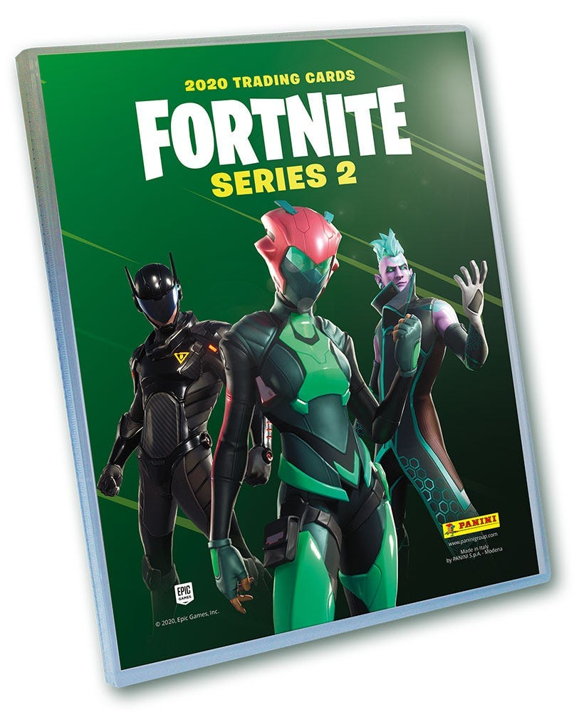 FORTNITE Official Trading Card Collection SERIES 2