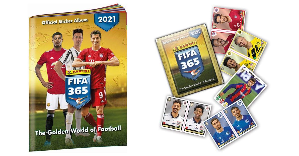 Panini FIFA 365™ 2021 Sticker Collection