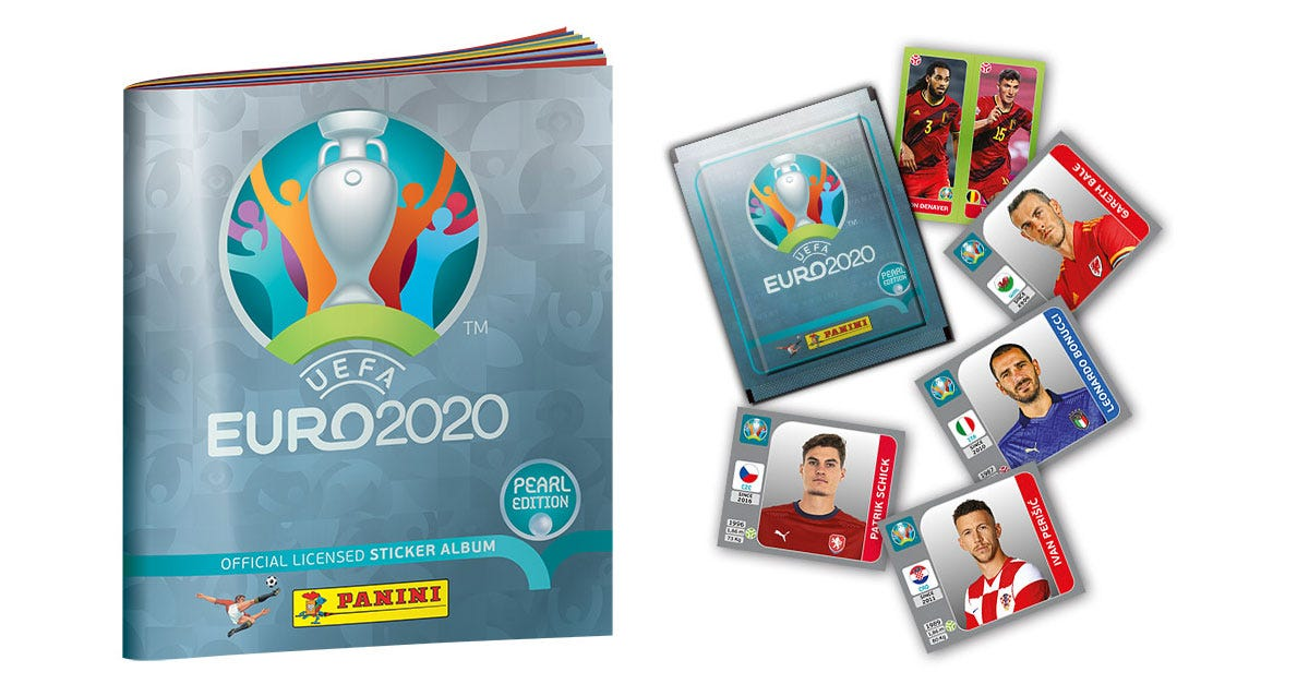 THE UEFA EURO 2020™ PEARL EDITION OFFICIAL STICKER COLLECTION