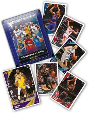 2020-2021 PANINI NBA STICKER AND CARD COLLECTION - fehlende Karten