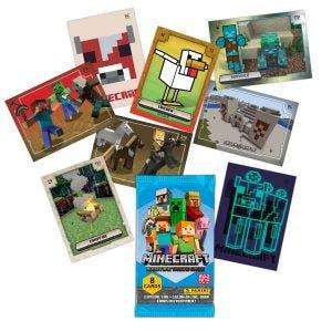 MINECRAFT Adventure Trading Card - Fehlende Karten