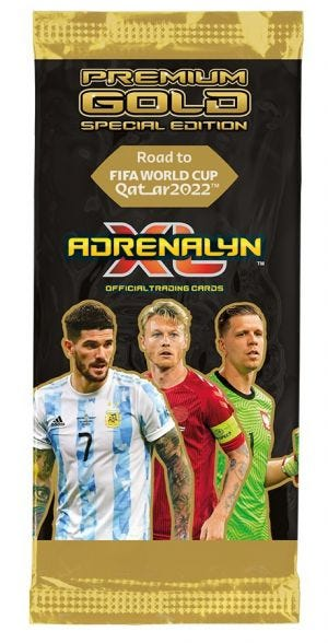 Road to FIFA World Cup Qatar 2022™ Adrenalyn XL Trading Cards – Premium Gold